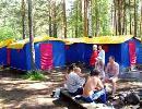 """Туристический комплекс """"Берель"""". Двухместные палатки без удобств"""
