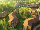 "Отель ""LES Art Resort 4*"" (ЛЕС Арт Резорт). Территория"